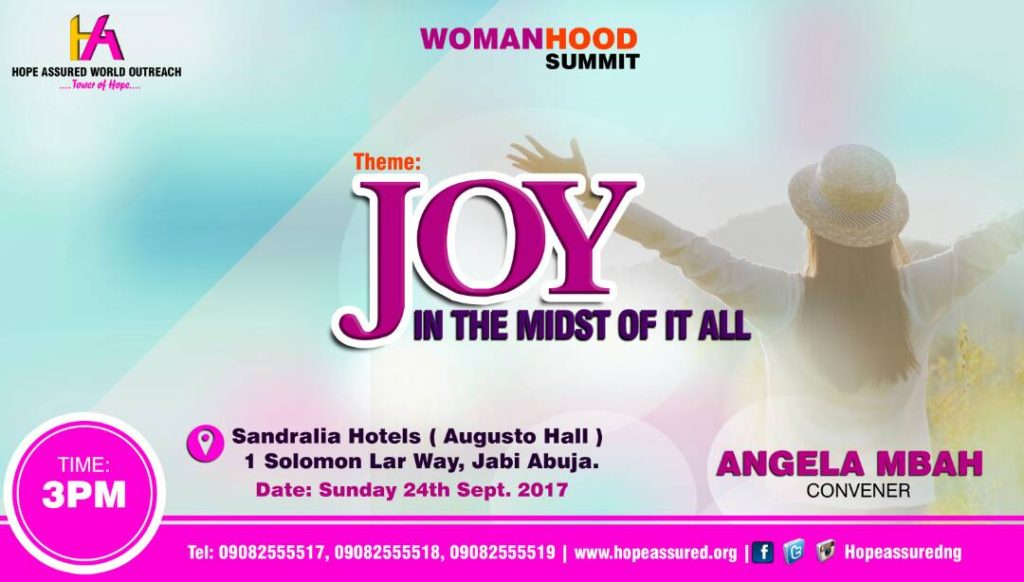 Joy in the midst of it all